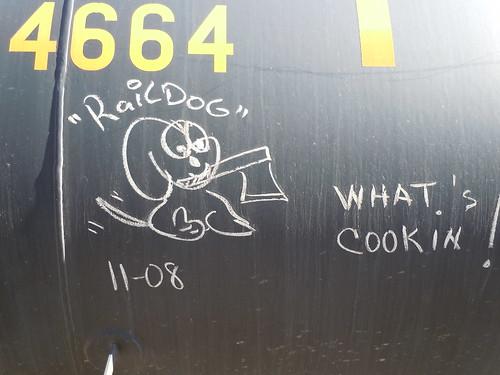 06-11-11 Rail Car Graffiti @ Renville, MN11