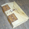 Ledger Replica (MyHandboundBooks) Tags: parchment replica bookbinding handbound longstitch myhandboundbooks ledgerbinding