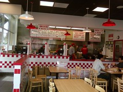 Inside Five Guys