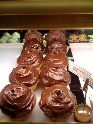 New at Batch: Mocha Caramel cupcakes