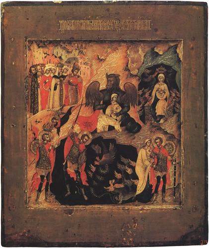 017- El milagro de San Teodoro- Siglo XVII