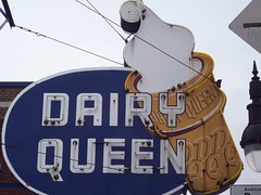 Dairy Queen (coolcat1965) Tags: old ice sign vintage montreal cream queen dairy enseigne ancien crme glace non mtlguessed