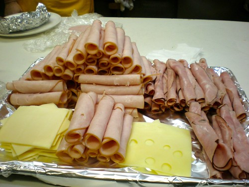 We built a Temple of Lunchmeat.