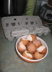 One dozen egg whites and shells (kjenkinsduffy) Tags: twinkle cupcake eggs