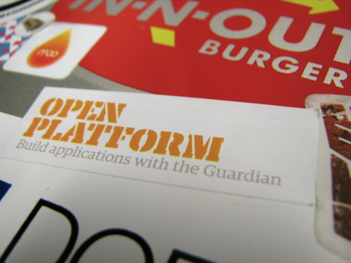 Open Platform sticker