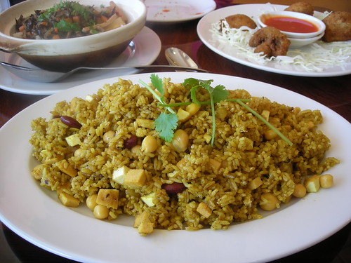 Curried Fried Rice from the Bodhi House