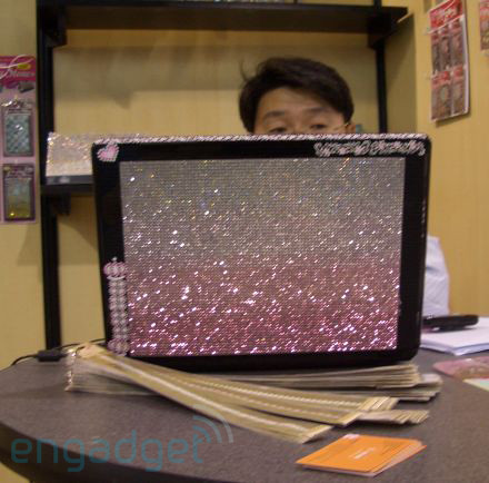 bedazzled laptop