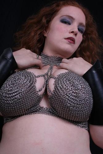 Chain Mail Bikini by Damon Mace of Aries Chain Mail