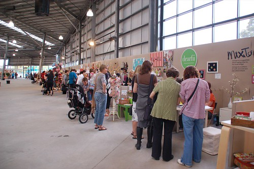 Indie Craft section at Stitches & Craft show