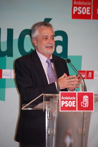 Acto con José Antonio Griñan