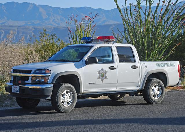california park chevrolet colorado ranger police pickup chevy policecar anzaborrego parkranger