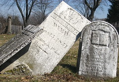 Headstones Falling Over (chicagogeek) Tags: old tree cemetery grave composition book illinois symbol headstone tombstone 19thcentury suburbia headstones historic pointandshoot leaning crooked chicagoland fallingover dupagecounty smithroad waynecenter petersdorfroad waynecemetery