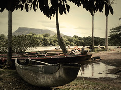 Checks before starting (ithil) Tags: trip water river venezuela fiume lancia rapide lagunadicanaima nuovametailsaltodellangelo