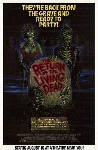 Return of the Living Dead film poster