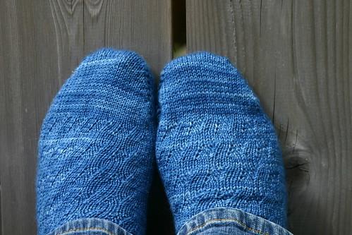 New socks - Mockery