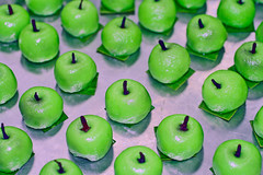 Green Apples (CristalArt) Tags: macro green apple digital photoshop canon photography steel sweets shape