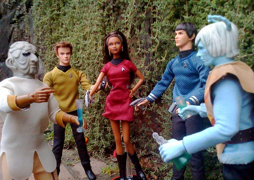 Star Trek Barbies 4