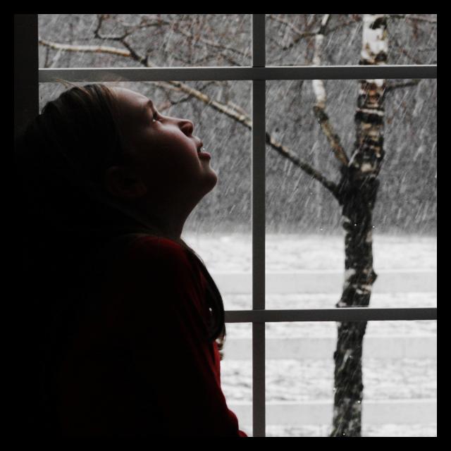 looking_at_snow