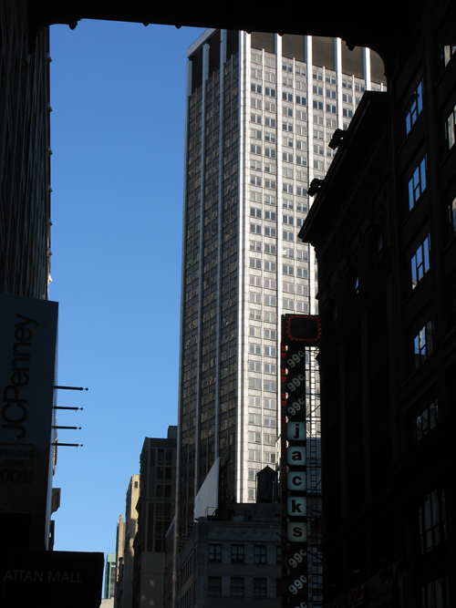 view on 32nd Street, Manhattan, NYC