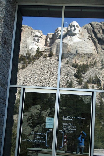 Mt. Rushmore - a reflection, anyway.