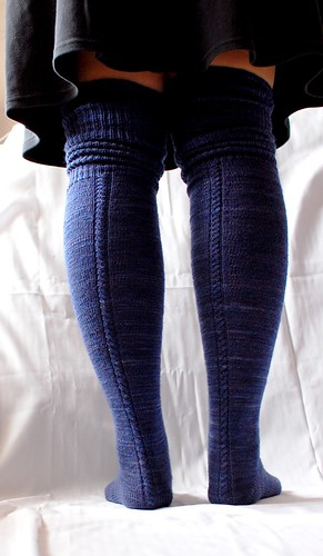 Ravelry Delicious Knee Socks Pattern By Laura Chau