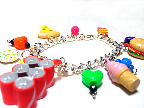 Junk Food Bracelet by nightsrequiem.