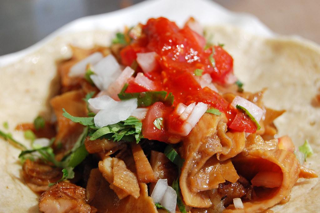 Taco De Buche (Pork Jowl)