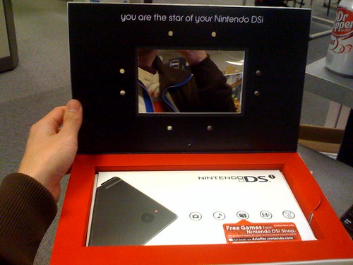 Nintendo DSi in mail