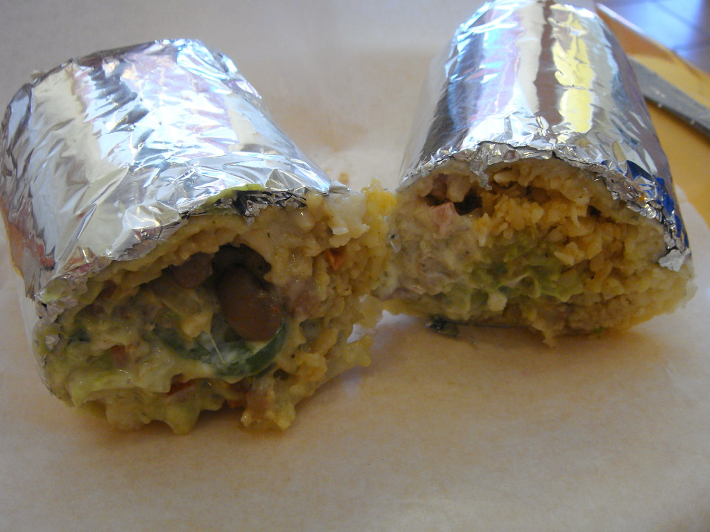 Super Fish Buritto & Super Shrimp Burrito