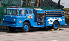 Dodgers Fire Academy (Code20Photog) Tags: ford fire los angeles cab c engine academy dodgers pumper
