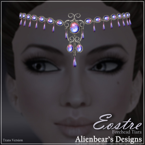 Eostre forhead tiara Multi MS
