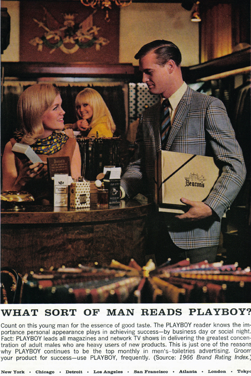 Vintage Ad #782: What Sort of Man Reads Playboy? (2)