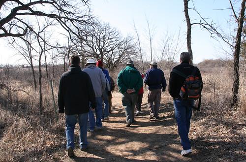 Bird Walkers at Volo Bog