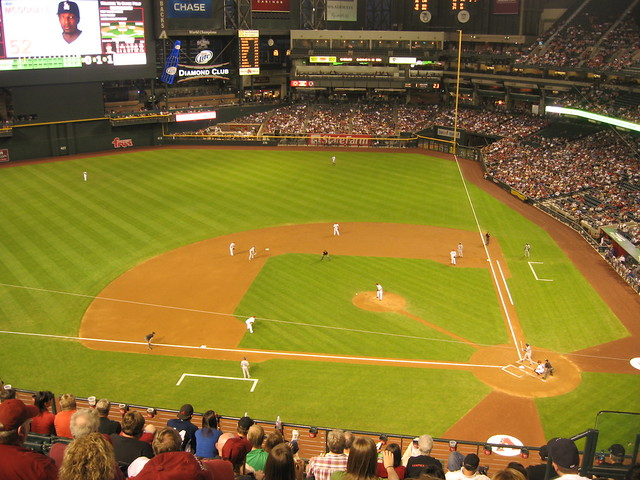 Arizona Diamondbacks 9, Los Angeles Dodgers 4, Chase Field, Phoenix, Arizona (22)