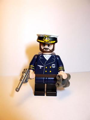 U-Boat Captain custom minifig