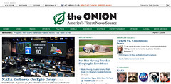 The Onion uses Drupal to power its online wit.