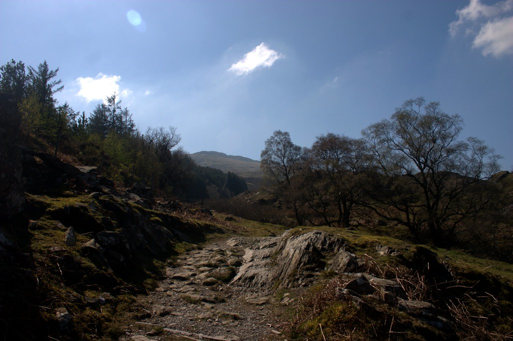Path up Moel Siabod