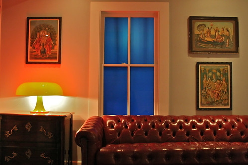Red Couch, Blue Window