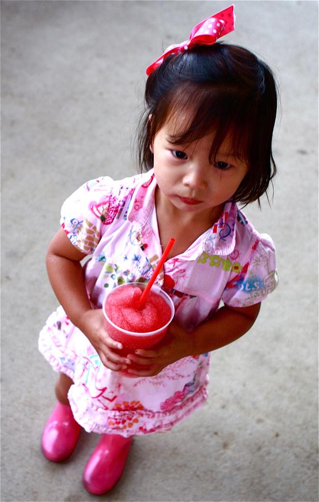 Tia, pinky drink