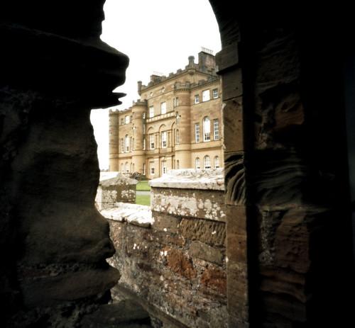 Culzean castle pinhole image
