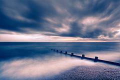 Keyhaven Groyne III (deceptive) Tags: sea clouds unitedkingdom 5d groyne milfordonsea keyhaven canon1740f4l