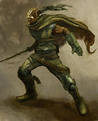 Arcturus2 (Paulos Varrus) Tags: black male ranger fighter belts sword warlord genasi earthsoul