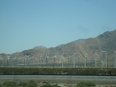 Coachella 2009 - On the Road, By the Windmills