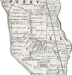 Upper Arlington area map from the 1880s