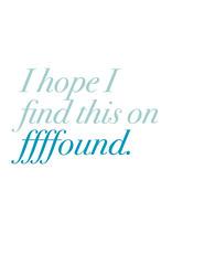 ffffound (caroline.royce) Tags: typography internet ffffound