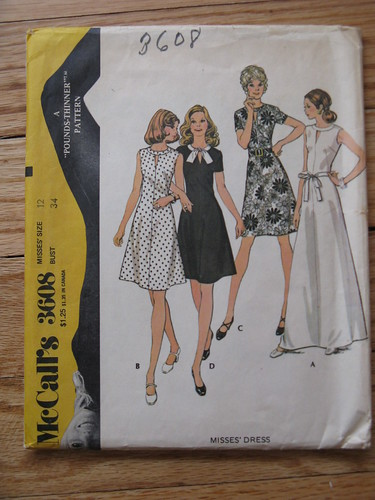 vintage pattern-summer dress