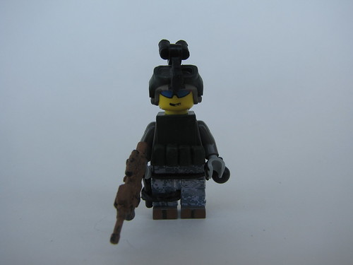 US Army Ranger, 75th Ranger Regiment custom minifig