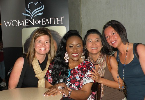 Us with Mandisa at Women of Faith