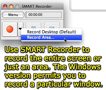 SMART Recorder - Record an Area