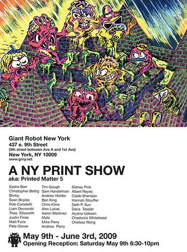 A NY PRINT SHOW